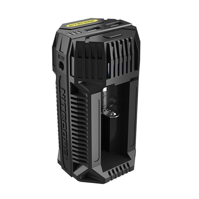 Зарядное устройство для аккумуляторов Nitecore V2 6А - 2xUSB 2.1A (6-1291)