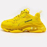 Кроссовки мужские Balenciaga Triple S Clearsole Fluo Yellow