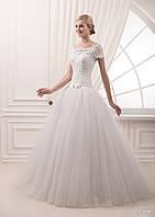 Свадебное платье для принцессы, котороя любит кружево и банты