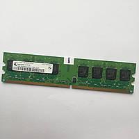 Оперативная память Qimonda DDR2 1Gb 667MHz PC2 5300U 1R8/2R8 CL5 Б/У MIX, фото 1