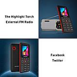 Leagoo B13 - мультимедийный телефон. 2 SIM СИМ карты. Black Red, фото 2