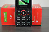 Leagoo B13 - мультимедийный телефон. 2 SIM СИМ карты. Black Red, фото 8