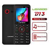 Leagoo B13 - мультимедийный телефон. 2 SIM СИМ карты. Black Red, фото 10