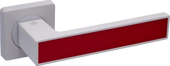 Дверні ручки Gavroche MAGNIUM White/Red (білий/червоний)