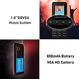 Leagoo B13 - мультимедийный телефон. 2 SIM СИМ карты. Black Red, фото 3