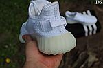 Мужские кроссовки Adidas Yeezy Boost 350 Рефлективные (белые) D6, фото 9