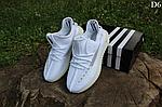 Мужские кроссовки Adidas Yeezy Boost 350 Рефлективные (белые) D6, фото 3