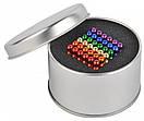 Неокуб Neocube 216 шариков 5мм в боксе 5738, разноцветный, фото 2