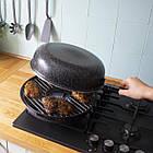 Сковорода двухсторонняя для гриля Аэрогриль BENSON двойная сковородка, фото 2