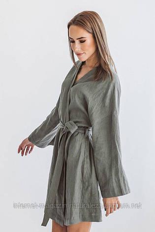Женский халат льняной, фото 2