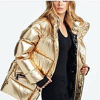 Куртка женская пуховик Gold