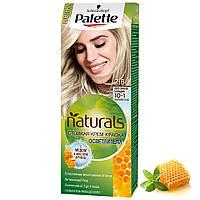"""Крем-краска для волос """"Фитолиния"""" Palette Naturals Schwarzkopf Phytolinia 10-1 (№218) Пепельный блондин, фото 1"""
