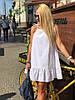 Женский сарафан оверсайз из прошвы, фото 2