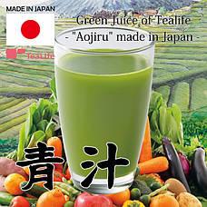 Спирулина, хлорелла, Aojiru (японские напитки из фруктов и овощей), сублимированные овощи