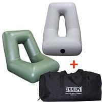 Надувне крісло для човни ПВХ ЛКН-190-220 у комплекті з сумкою-чохлом