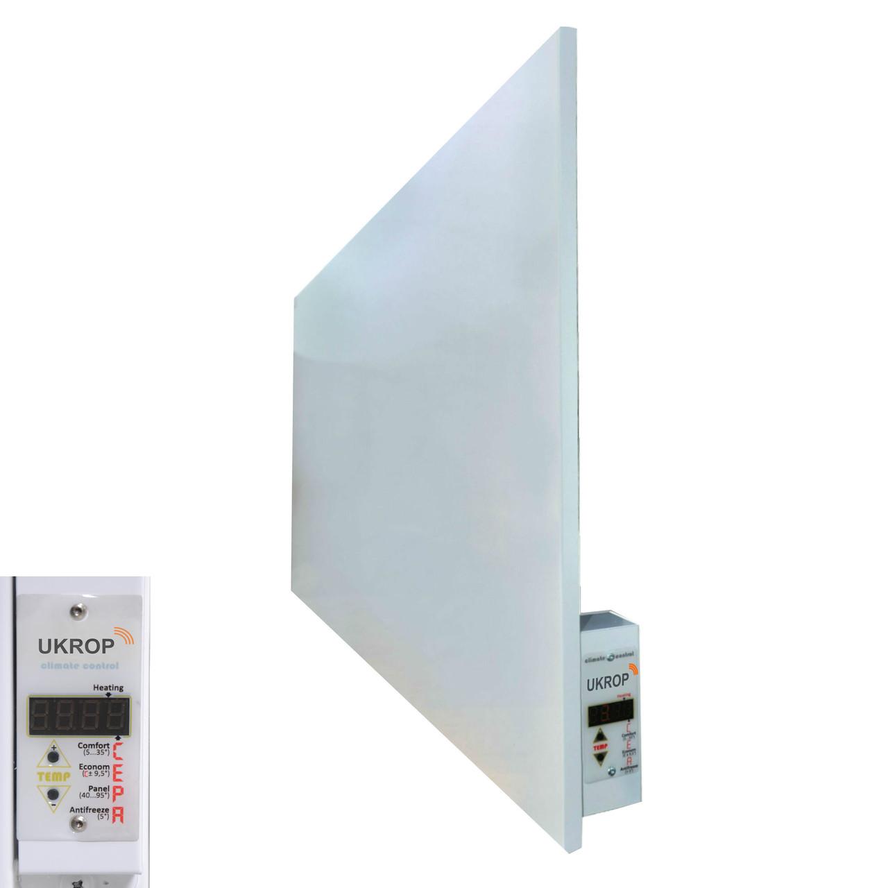 УКРОП МЕТАЛИК 700ВТ умный обогреватель с цифровым терморегулятором инфракрасная панель