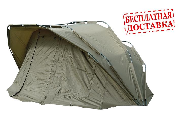 Карповая палатка Carp Zoom Adventure 3+1 Bivvy, CZ6810