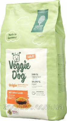 Корм Green Petfood для собак с чечевицей | Green Petfood VeggiDog Origin Adult 900 грамм