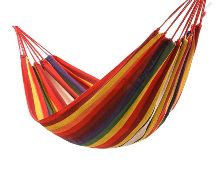 Подвесной мексиканский гамак для отдыха