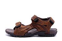 Мужские кожаные сандалии DEFF brown, фото 1