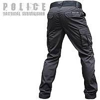"""Брюки тактические """"POLICE"""" BLACK с ремнём 5 см., фото 2"""