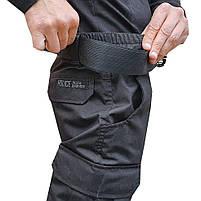 """Брюки тактические """"POLICE"""" BLACK с ремнём 5 см., фото 7"""