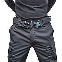 """Брюки тактические """"POLICE"""" BLACK с ремнём 5 см., фото 4"""