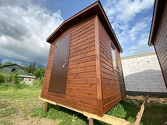 Бытовка деревянная, хозблок для дачи 3000х2500 1