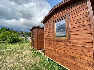 Бытовка деревянная, хозблок для дачи 3000х2500 12