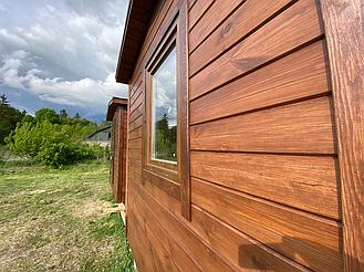 Бытовка деревянная, хозблок для дачи 3000х2500 15