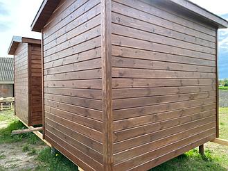 Бытовка деревянная, хозблок для дачи 3000х2500 4
