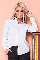 Белая рубашка с 1 карманом, фото 1