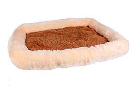 Лежанка «Шик» для собак и кошек серии «Уют» 36x48x8 см