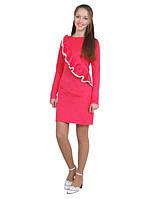 """Платье детское с длинным рукавом М -1116 рост 152 трикотажное сиреневое тм """"Попелюшка"""""""
