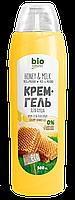 """Крем-гель для душу """"Мед і молоко"""" Bio Naturell 500 мл"""