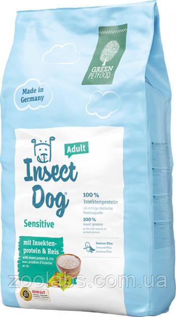 Корм Green Petfood для собак с протеинами насекомых | Green Petfood Insectdog Sensitive Dog Adult 10 кг