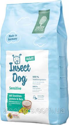 Корм Green Petfood для собак с протеинами насекомых | Green Petfood Insectdog Sensitive Dog Adult 10 кг, фото 2