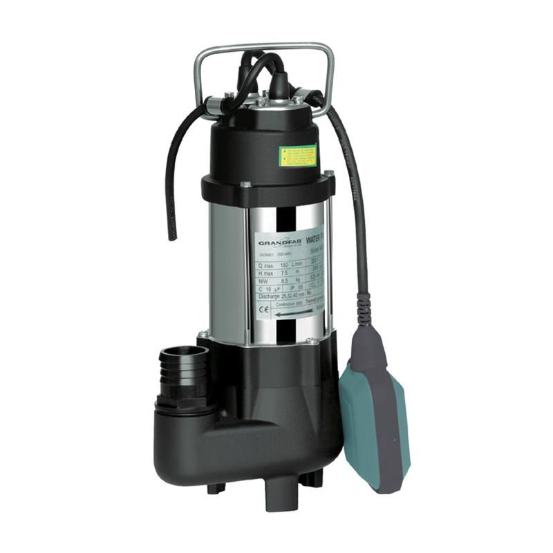 Канализационный насос для грязной воды (с поплавк. выкл.) GRANDFAR GV250F (GF1094)
