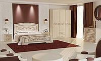 Спальня Инесса  (белый супермат )Неман