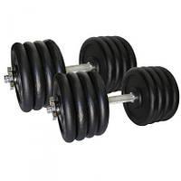 Гантелі набірні Newt Home 2 шт по 42 кг