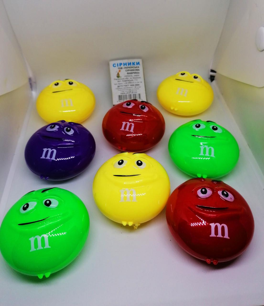 Лызун антистрес асорті M&M. Іграшка для наповнення Піньята від ПиньятаUA