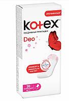Ежедневные гигиенические прокладки ультратонкие  Kotex® 20 штук 1 капля