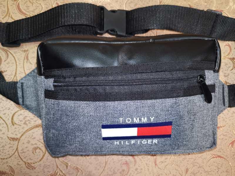 Новый стиль 2020 Сумка на пояс TOMMY HILFIGE мессенджер с кожаным/Спортивные барсетки сумка бананка только опт
