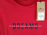 Чоловіча футболка великого розміру червона, фото 6