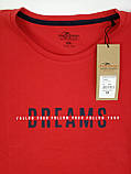 Чоловіча футболка великого розміру червона, фото 8
