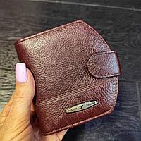 Компактный женский кожаный кошелек с монетницей Italian