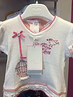 Детская футболка Chicco для девочки 6 месяцев