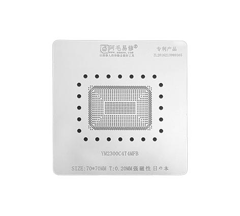 Трафарет BGA Amaoe YM2300C4T4NFB (0.20 mm)