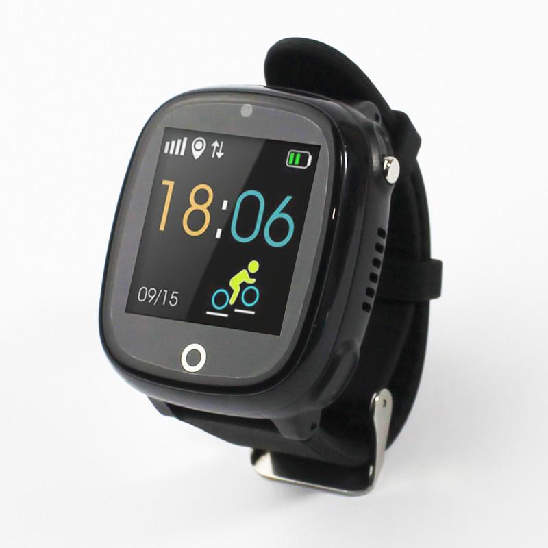 Детские смарт- часы телефон JETIX DF50 Light Edition с GPS трекером и влагозащитой Original (Black)