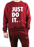 Спортивный костюм мужской бордовый Nike Найк